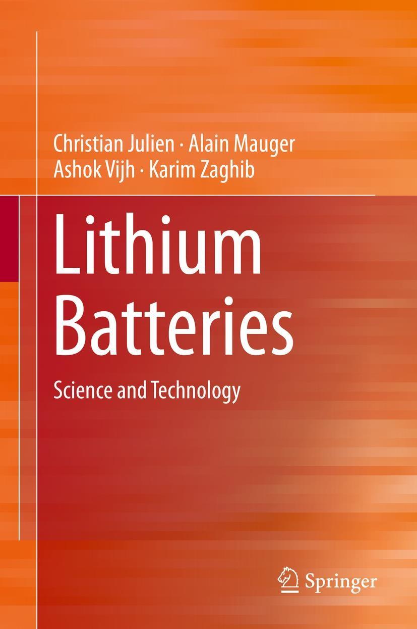 Lithium Batteries | Julien / Mauger / Vijh | 1st ed. 2016, 2015 | Buch (Cover)