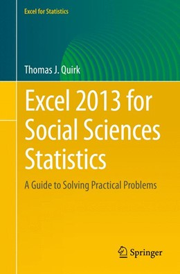 Abbildung von Quirk | Excel 2013 for Social Sciences Statistics | 1. Auflage | 2015 | beck-shop.de