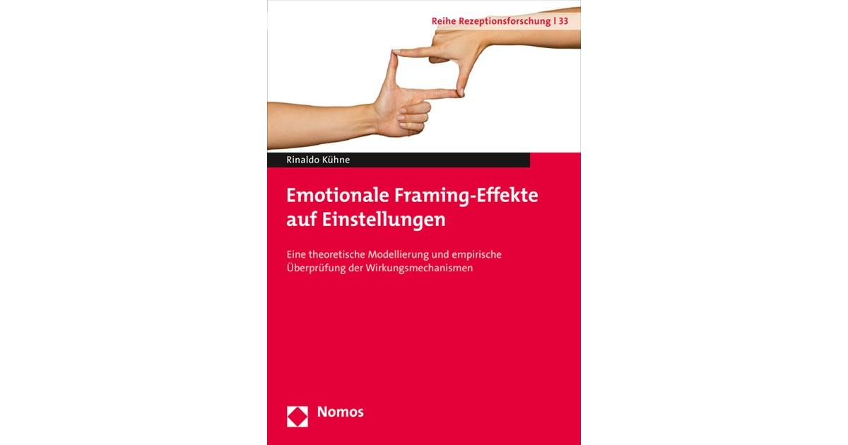 Emotionale Framing-Effekte auf Einstellungen   Kühne, 2015   Buch ...