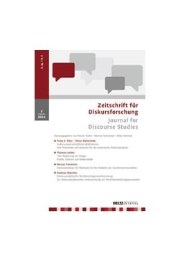 Abbildung von Zeitschrift für Diskursforschung | 8. Jahrgang | 2020 | Journal for Discourse Studies