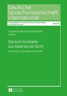 Abbildung von Di Meola / Puato | Deutsch kontrastiv aus italienischer Sicht | 2015 | Phraseologie, Temporalität und... | 20