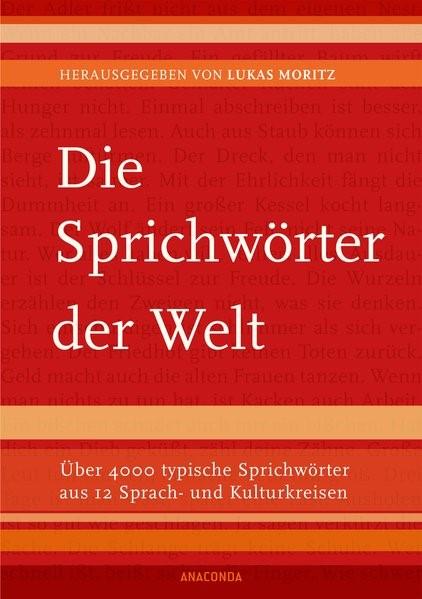 Die Sprichwörter der Welt | Moritz, 2015 | Buch (Cover)