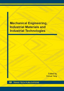 Abbildung von Yang | Mechanical Engineering, Industrial Materials and Industrial Technologies | 2015 | Selected, peer reviewed papers... | Volume 763
