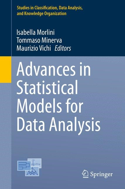 Advances in Statistical Models for Data Analysis | Morlini / Minerva / Vichi | 1st ed. 2015, 2015 | Buch (Cover)
