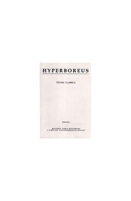 Cover: , Hyperboreus Volume 6 (2000) Heft 1