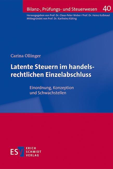 Latente Steuern im handelsrechtlichen Einzelabschluss | Ollinger, 2015 | Buch (Cover)