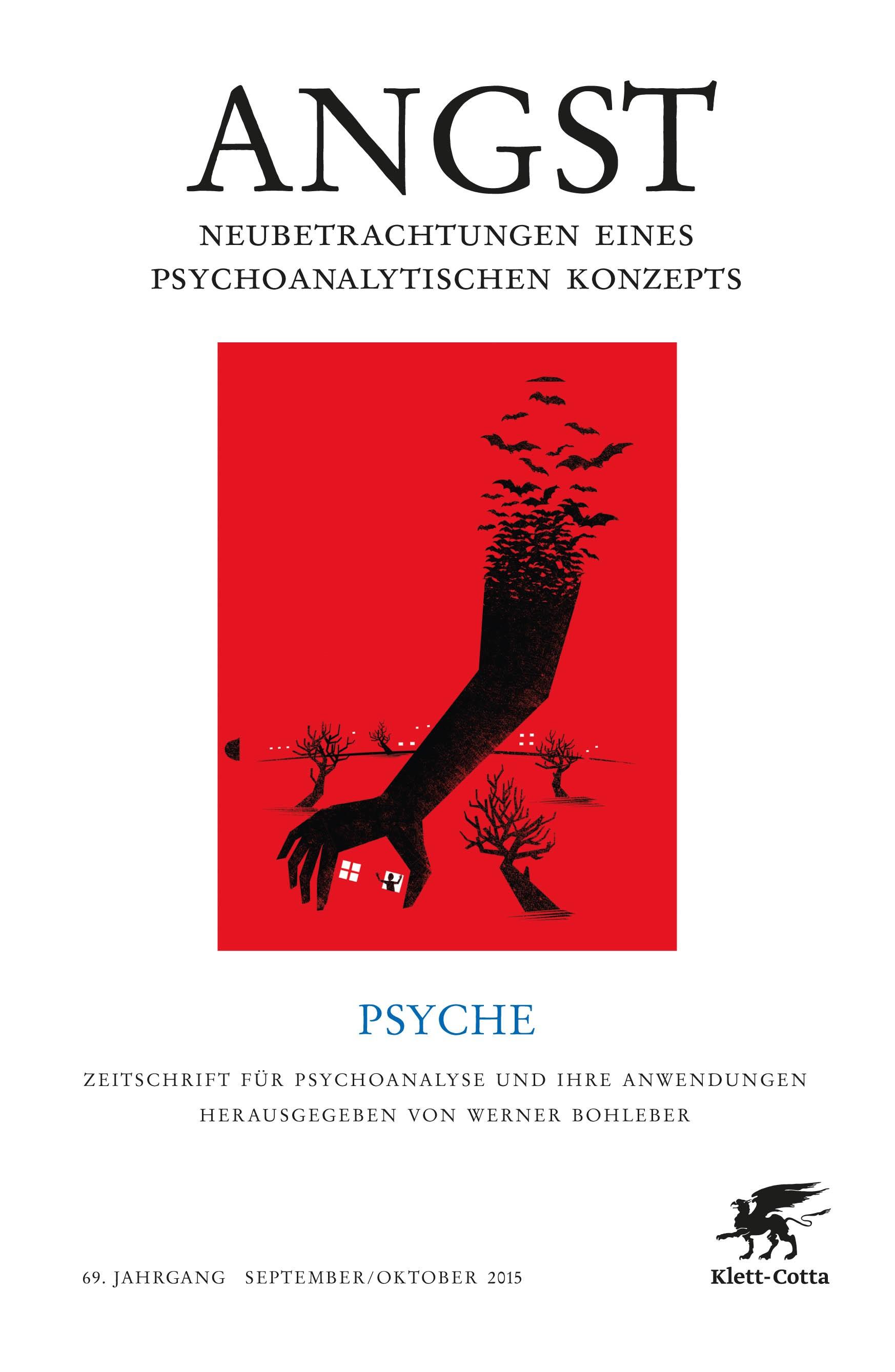 Abbildung von Bohleber / Anzieu-Premmereur / Beutel | Angst - Neubetrachtungen eines psychoanalytischen Konzepts | 2015