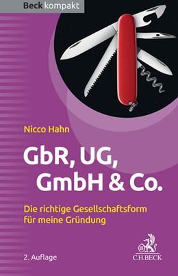 Abbildung von Hahn | GbR, UG, GmbH & Co. | 2. Auflage | 2017 | beck-shop.de