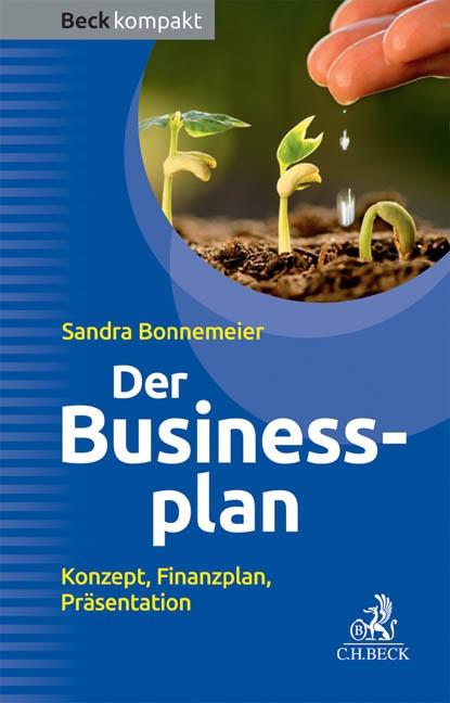Der Businessplan | Bonnemeier | Buch (Cover)