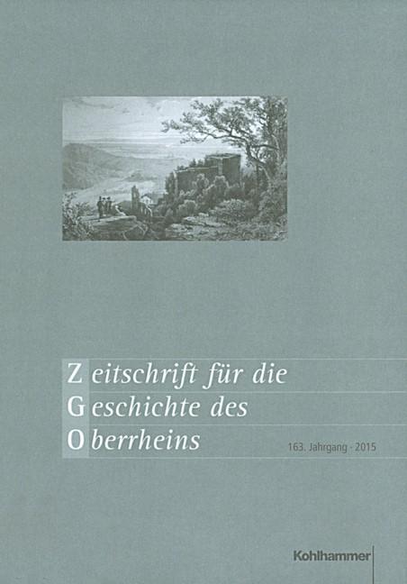 Zeitschrift für die Geschichte des Oberrheins, 2016 | Buch (Cover)