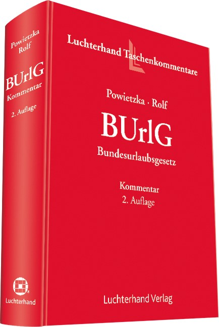 BUrlG | Powietzka / Rolfs | Buch (Cover)