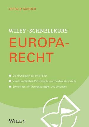 Wiley-Schnellkurs Europarecht   Sander, 2018   Buch (Cover)