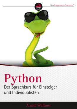 Abbildung von Willemer | Python. Der Sprachkurs für Einsteiger und Individualisten | 2015