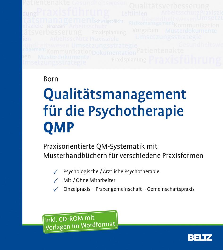 Qualitätsmanagement für die Psychotherapie QMP | Born, 2015 (Cover)