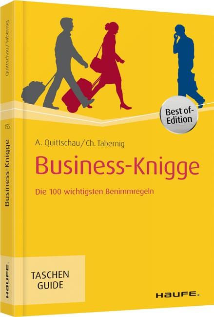 Business-Knigge | Quittschau / Tabernig | 4. Auflage, 2015 | Buch (Cover)