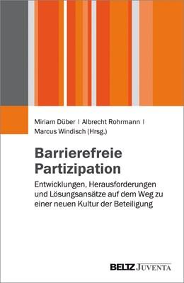 Abbildung von Düber / Rohrmann   Barrierefreie Partizipation   1. Auflage   2015   beck-shop.de