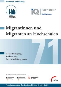 Abbildung von Severing | Migrantinnen und Migranten an Hochschulen | 1. Auflage | 2015 | beck-shop.de
