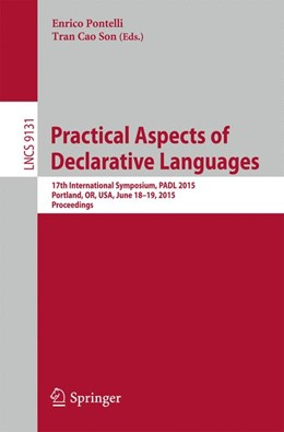Abbildung von Pontelli / Son | Practical Aspects of Declarative Languages | 2015 | 2015 | 17th International Symposium, ... | 9131