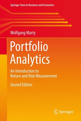 Abbildung von Marty | Portfolio Analytics | 2nd ed. 2015 | 2015 | An Introduction to Return and ...