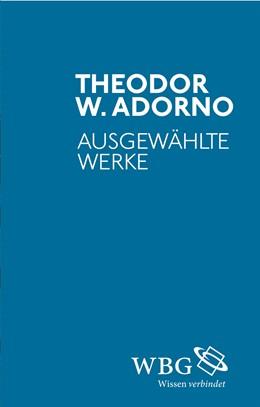 Abbildung von Adorno | Ausgewählte Werke | 2015