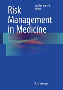 Abbildung von Merkle | Risk Management in Medicine | 1st ed. 2016 | 2015