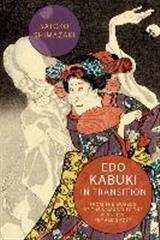 Abbildung von Shimazaki | Edo Kabuki in Transition | 2016
