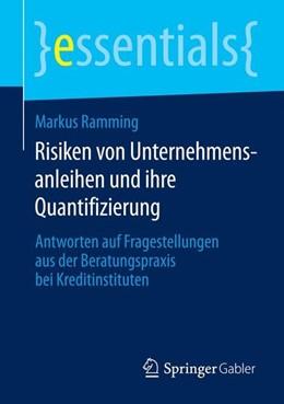 Abbildung von Ramming | Risiken von Unternehmensanleihen und ihre Quantifizierung | 1. Auflage | 2014 | beck-shop.de
