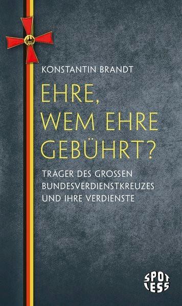 Ehre, wem Ehre gebührt? | Brandt, 2015 | Buch (Cover)