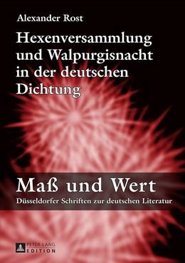 Abbildung von Rost   Hexenversammlung und Walpurgisnacht in der deutschen Dichtung   1. Auflage   2015   8   beck-shop.de