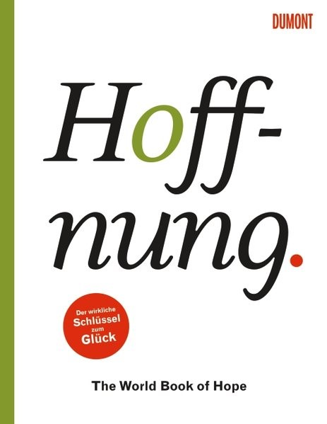 Hoffnung. The World Book of Hope | Bormans, 2015 | Buch (Cover)