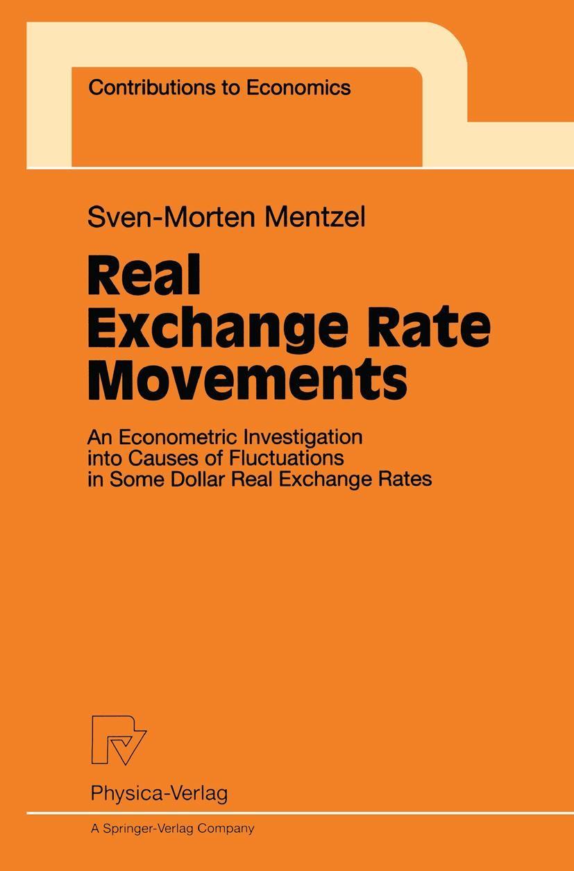Abbildung von Mentzel | Real Exchange Rate Movements | 1998