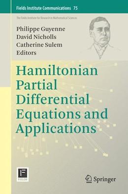 Abbildung von Guyenne / Nicholls | Hamiltonian Partial Differential Equations and Applications | 1. Auflage | 2015 | 75 | beck-shop.de