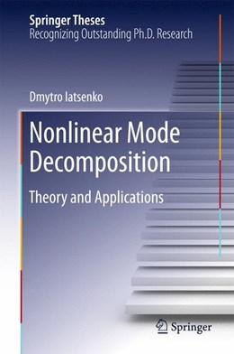 Abbildung von Iatsenko | Nonlinear Mode Decomposition | 1. Auflage | 2015 | beck-shop.de