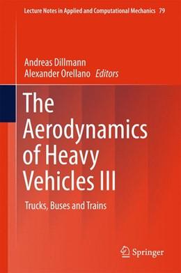 Abbildung von Dillmann / Orellano | The Aerodynamics of Heavy Vehicles III | 1. Auflage | 2015 | 79 | beck-shop.de