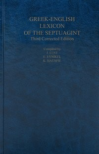 A Greek-English Lexicon of the Septuagint, 2016 | Buch (Cover)