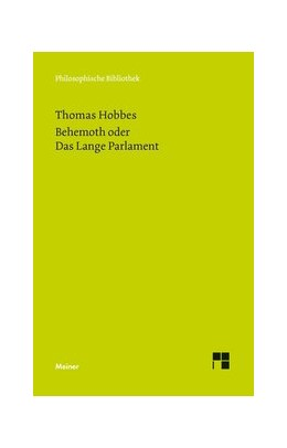Abbildung von Hobbes / Schröder | Behemoth oder Das Lange Parlament | 2015 | 680