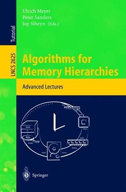 Abbildung von Meyer / Sanders / Sibeyn | Algorithms for Memory Hierarchies | 2003 | Advanced Lectures | 2625