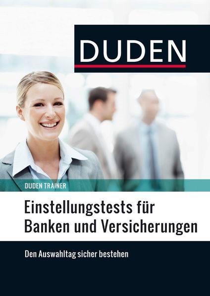 Duden Trainer - Einstellungstests für Banken und Versicherungen | Willmann, 2015 | Buch (Cover)