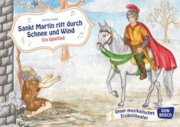 Abbildung von Sankt Martin ritt durch Schnee und Wind   Nachdruck   2015   Bildkarten für unser musikalis...