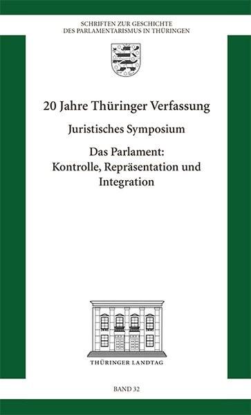 Abbildung von 20 Jahre Thüringer Verfassung   2014