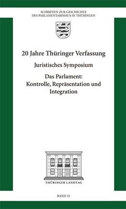Abbildung von 20 Jahre Thüringer Verfassung | 2014 | Juristisches Symposium Das Par...