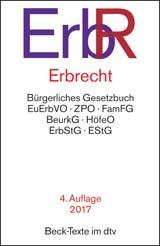 Erbrecht: ErbR | 4. Auflage, 2017 | Buch (Cover)