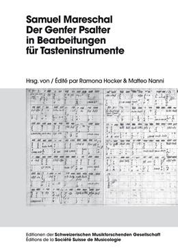 Abbildung von Hocker / Nanni   Samuel Mareschal – Der Genfer Psalter in Bearbeitungen für Tasteninstrumente   2015   1