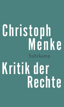 Abbildung von Menke | Kritik der Rechte | 2015