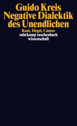 Abbildung von Kreis | Negative Dialektik des Unendlichen | Originalausgabe | 2015 | Kant, Hegel, Cantor | 2162