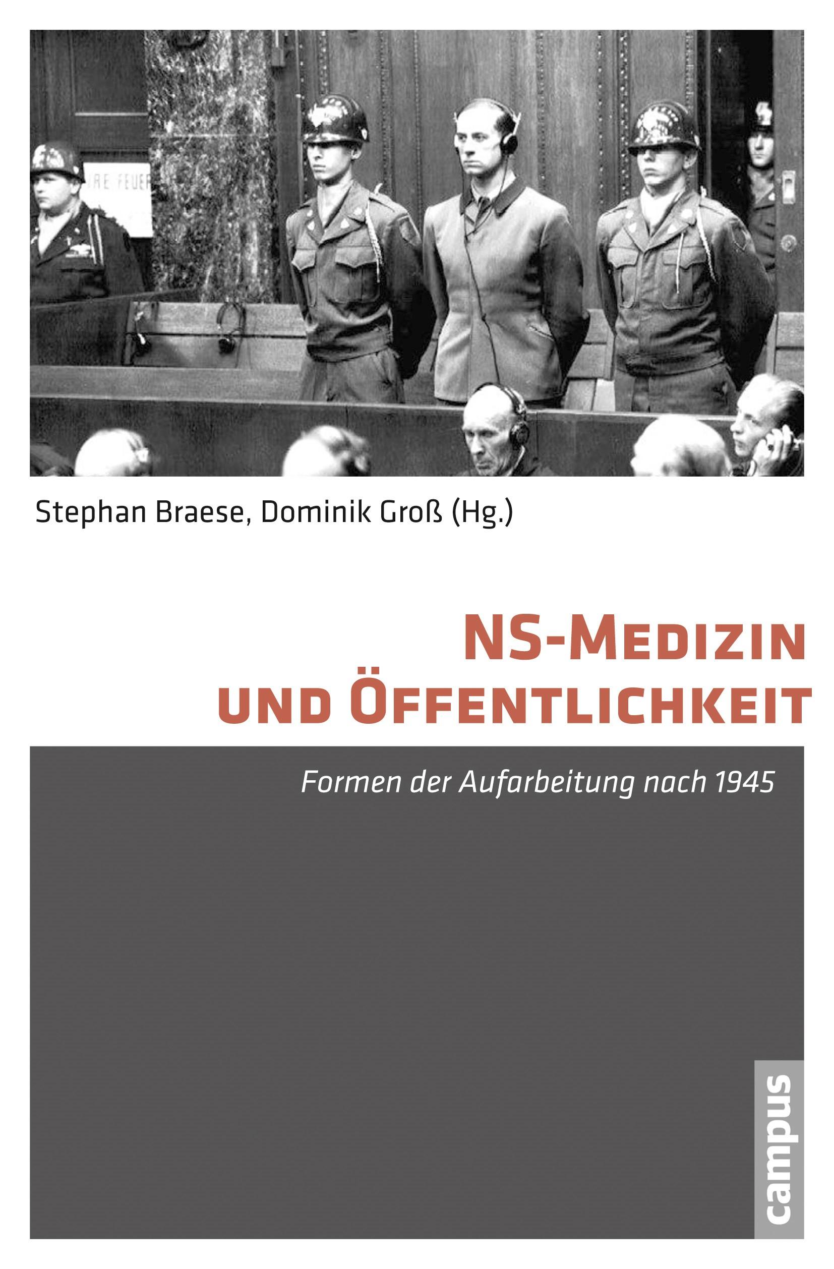 Abbildung von Braese / Groß | NS-Medizin und Öffentlichkeit | 2015