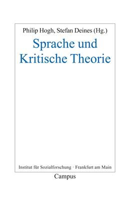 Abbildung von Hogh / Deines   Sprache und Kritische Theorie   2016   21