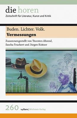 Abbildung von Ahrend / Feuchert | Buden. Lichter. Volk | 1. Auflage | 2015 | 260, 60. Jahrgang | beck-shop.de