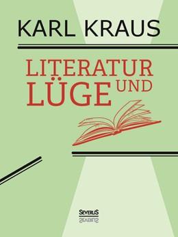 Abbildung von Kraus   Literatur und Lüge   Nachdruck der Ausgabe von 1958   2016