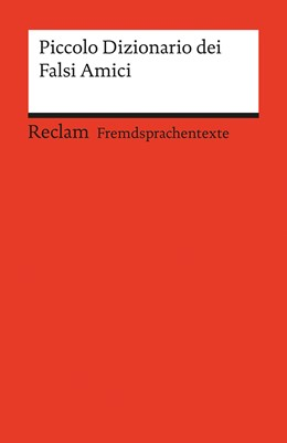 Abbildung von Krieg / Chilese | Piccolo Dizionario dei Falsi Amici | 1. Auflage | 2015 | 19886 | beck-shop.de